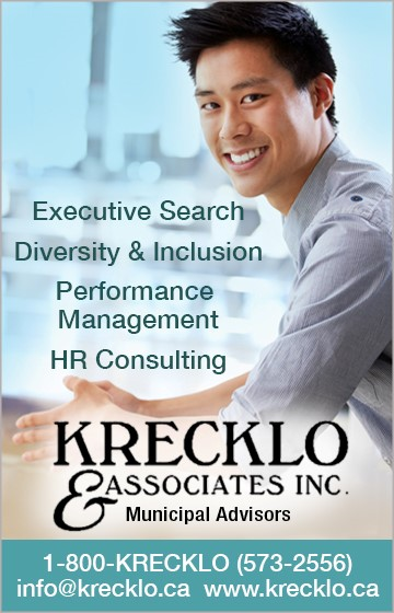 Ad: Executive Search, Diversity & Inclusion, Performance Management, HR Consulting - Krecklo & Associates Inc - Municipal Advisors