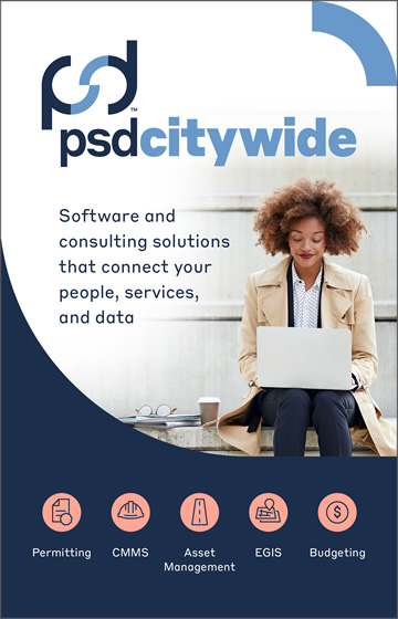 Ad: psd citywide - Software and consulting solutions that connect your people, services, and data