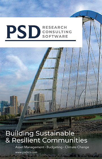 Ad: PSD Research Consulting Software - Building Systainable & Resilient Communities