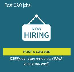 Post a CAO Job promo image