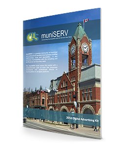 Snapshot of a the muniSERV Media Kit
