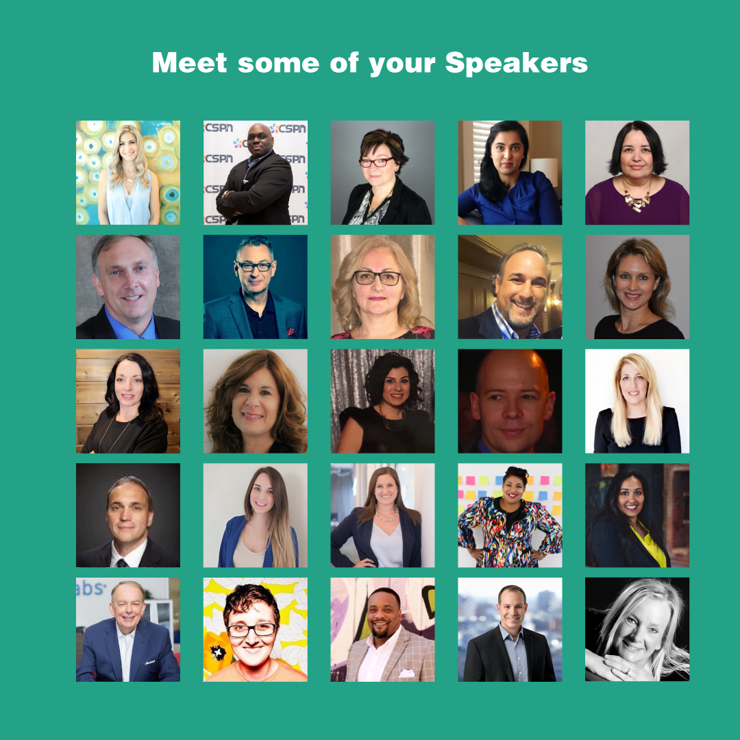 images of speakers at CSPN conference
