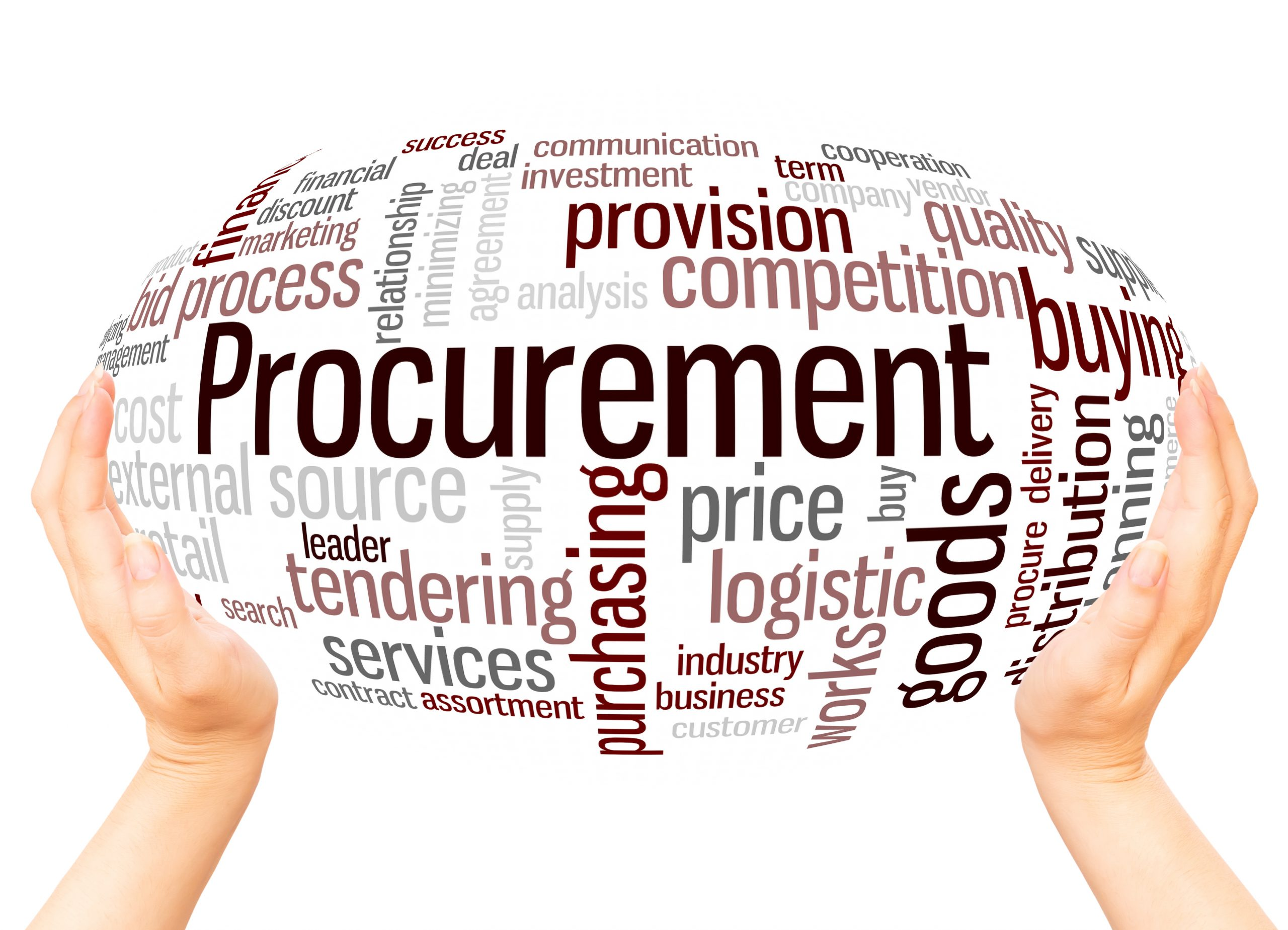 ball with words - procurement