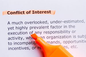 description of conflict of interest